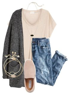 """""""Untitled #119"""" by lhnlila on Polyvore featuring EAST, Kofta, J.Crew, Steve Madden and Kendra Scott"""