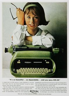 Vintage Office Advertisements of the 1960s