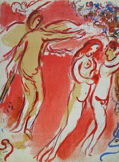 Bible - Adam Et Eve Chassés Du Paradis Collectable Print by Marc Chagall at Art.com