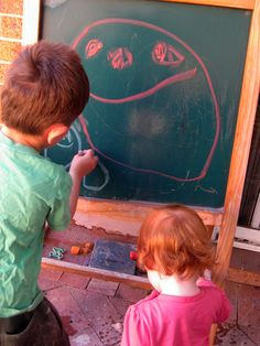 Happy Whimsical Hearts: Blackboard wars