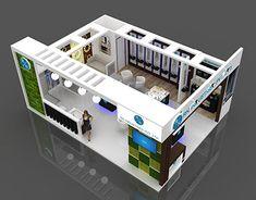 Exhibition Stall, Exhibition Booth Design, Exhibit Design, Beautiful House Plans, Beautiful Homes, Tourist Information, Restaurant Design, Exhibitions, Industrial