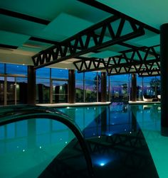 The indoor pool at Argentario Resort Golf & Spa, Porto Ercole, Italy. http://www.kiwicollection.com/hotel-detail/argentario-golf-resort-spa