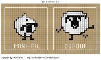 Shaun the sheep Knitting Charts, Knitting Stitches, Baby Knitting, Knitting Patterns, Loom Bands, Cross Stitch Designs, Cross Stitch Patterns, Cross Stitching, Cross Stitch Embroidery