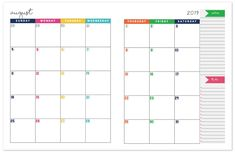 photo regarding Asa Flight Planner Printable named 91 Easiest 2018 printable calendar photos Working day planners