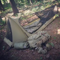 Testing my new personal sleep system. Getting ready for GoRuck Navigator and the Search and Rescue Team I recently joined. Bushcraft Camping, Ultralight Backpacking, Camping Survival, Outdoor Survival, Survival Prepping, Survival Gear, Camping Gear, Outdoor Camping, Outdoor Gear