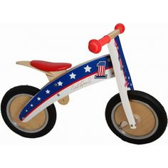 Kiddimoto Kurve Hero Evel Knievel Balance Bike