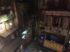 """Kawasaki Japan """"Your Warehouse"""" a 6 story arcade indoor theme park/arcade themed the infamous walled city in Hong Kong. It feels more like a haunted house! (video in the comments)"""