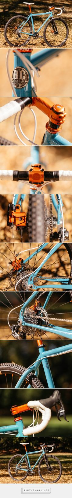 SPARKLE BLUE COLLAR BICYCLES DISC ALL ROAD