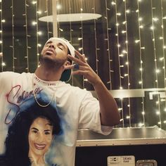 Who Else Besides A 12-Year-Old Mexican Girl Would Get An Airbrushed Selena Shirt? Nobody, But Drake.