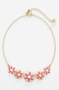 kate+spade+new+york+'eyelet+garden'+frontal+necklace+available+at+#Nordstrom