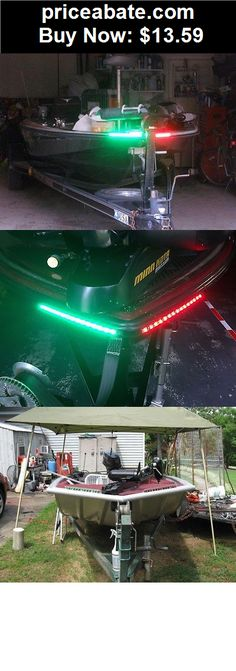 Boat-Parts: BOAT LED BOW LIGHTING RED & GREEN NAVIGATION LIGHT MARINE LED BASS BOAT KAYAK  - BUY IT NOW ONLY $13.59