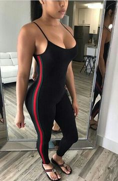 Sporty G Jumpsuit – Jadore Fancy Day Party Outfits, Cool Outfits, Summer Outfits, Casual Outfits, Fashion Outfits, Womens Fashion, Weekend Getaway Outfits, I Love Girls, Everyday Look