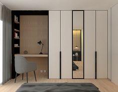 Wardrobe Interior Design, Wardrobe Door Designs, Condo Interior, Bedroom Closet Design, Bedroom Built In Wardrobe, Bedroom Furniture Design, Home Room Design, Closet Designs, Bathroom Interior