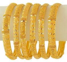Gold Bangles For Women