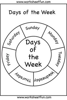Days of the Week: