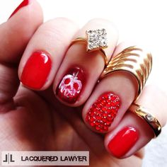 Lacquered Lawyer | Nail Art Blog: Just One Bite | Snow White