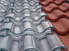 Mooie innovatie uit Zweden: dankzij doorzichtige #dakpannen kan nu ieder huis worden verwarmd met zonne-energie.