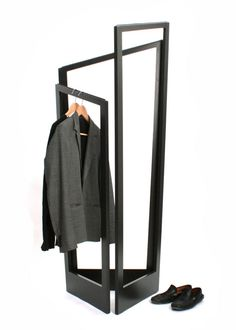 MAJOR, a flexible clothes hanger, takes the form and function of a clothes screen and turns it into an independent wardrobe that can move from room to room. http://vurni.com/major-flexible-clotheshanger/