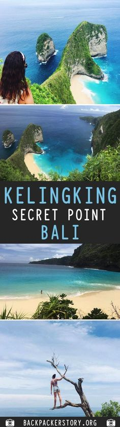 The roads on Penida are no for the faint hearted but it sure is beautiful // Kelingking Secret Point - Bali : Complete Guide