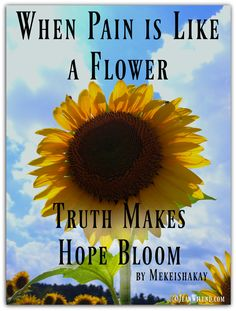 Excellent explanation for children of Christ bearing our sins. When Pain is Like a Flower, Truth Makes Hope Bloom by Mekeishakay via…