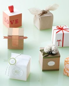 10 Ways To Decorate A Favor Box