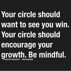 Circle, crew, friends quote