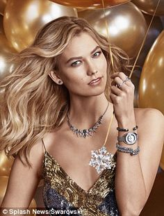 Party time! Karlie revealed in a statement that she has worn the brand for years, even bef...