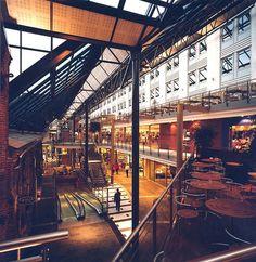 Nedre Elvehavn, Solsiden (2001) – ARC arkitekter Shopping Center, Times Square, Travel, Shopping Mall, Trips, Traveling, Tourism, Outdoor Travel, Vacations