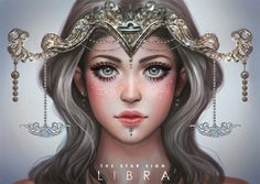"""serafleur: """"Libra ♎ """"Libra is an Air sign and represented by the symbol of the Balancing Scales. They are often surrounded by art, music and beautiful places. Libra-born prefer justice and equality, and they cannot tolerate injustice. Arte Libra, Libra Art, Zodiac Art, Libra Zodiac, Zodiac Signs, Anime Zodiac, Libra Horoscope, Gemini, Signo Libra"""