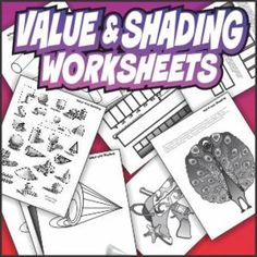 Value and Shading Art Activities art lesson