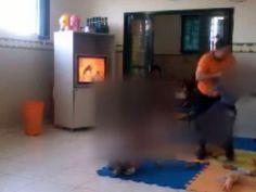 Canadauence TV: Monitora de creche flagrada agredindo crianças é p...