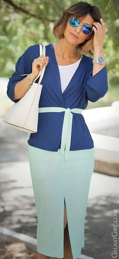 #chicstyle #summeroutfits #pencilskirt #officeoutfit #officeoutfitideas