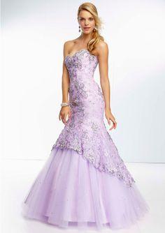 Paparazzi dress - Champagne, Light Purple - 95048 A dazzling purple prom dress #prom #promdress #formalapproach