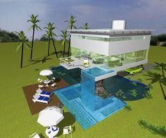 Casa Praia / prjeto Rui Córes architect / Ilhéus - Bahia - Brazil