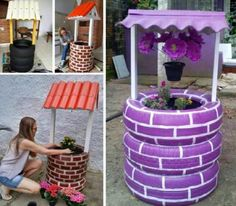 Wishing Well Planter Plans Lots Of Ideas