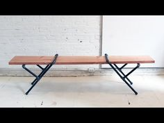 HomeMade Modern EP23 Pipe Bench