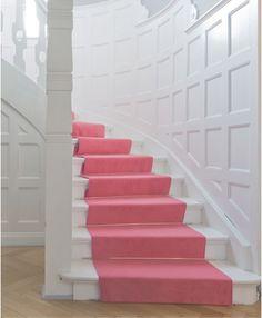 beautiful bright stairway