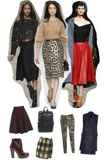 100 ways to wear the Autumn/Winter Trends