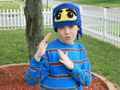 Ravelry: NinjaGo! Hat pattern by Kimberlie Goodnough $3
