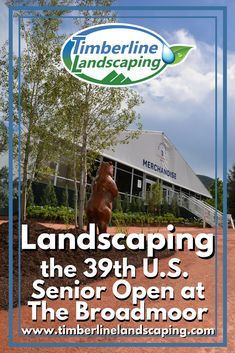 Landscaping the 39th U.S. Senior Open at The Broadmoor