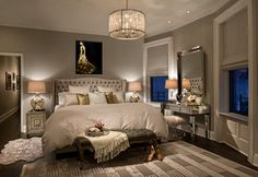 Emc2 Interiors showcased our gorgeous Jameson Bed & Omni Mirror in this Manhattan home.
