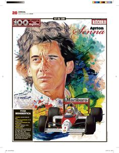 Ayrton Senna da Silva  (Racing driver F-1)