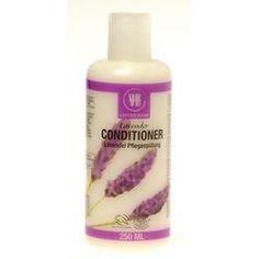 Urtekram Organic Lavender Conditioner 250ml Natural Shampoo And Conditioner, Homeopathy, Herbal Remedies, Natural Health, Herbalism, Vitamins, Lavender, Organic, Sepia Homeopathy