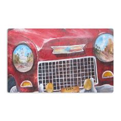 """Rosie Brown """"Vintage in Cuba"""" Aluminum Magnet"""