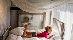 Nina Agdal by John Urbano for Aerie Holiday 2013