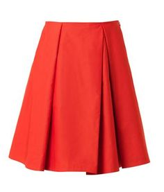Olivia Palermo's #LFW Pin Picks: Try this skater skirt skirt from Jil Sander Navy to recreate the look from Antonio Berardi SS '15.