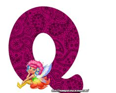 "Nombres "" Eloisa "": ABC (Muñeca morada )"