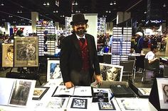 Steve Oatney at Comicon, San Diego