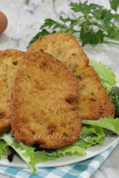 Salted fried bread cutlets are a quick and easy recipe with stale bread. The leftover bread is not t Butter Cupcake Recipe, Bread Cutlet, My Favorite Food, Favorite Recipes, Egg Recipes, Us Foods, Healthy Cooking, Quick Easy Meals, Italian Recipes