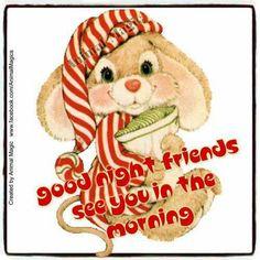 Good Night Good Night Beautiful, Hello Goodbye, People Sleeping, Animal Magic, Good Morning Good Night, Sleep Tight, Teddy Bear, Animals, Qoutes